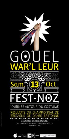 Gouel War'l Leur - Samedi 13 Octobre 2012 Afficheok2012web_L290px